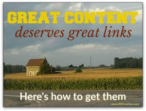 Great content deserves great links