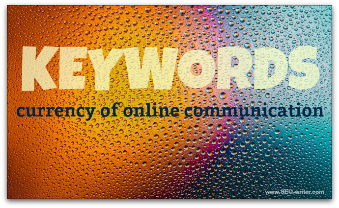 Keywords - currency of online communication